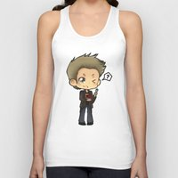 pie Tank Tops featuring PIE by Lady Cibia