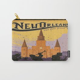Vintage poster - New Orleans Carry-All Pouch