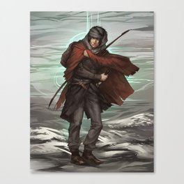 Ruby-hilted dagger Canvas Print
