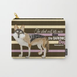 Mexican proverb (TOPOS) Carry-All Pouch