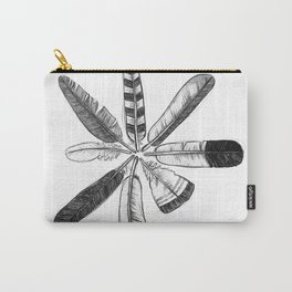 Cirlce of Feathers Carry-All Pouch