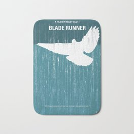 No011 My Blade Runner minimal movie poster Bath Mat