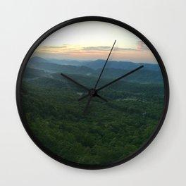 Dragon's Tooth, Catawba Valley, Virginia on the Appalachian Trail (AT) Wall Clock