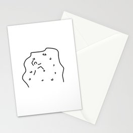 climb climbing hall boulder Stationery Cards
