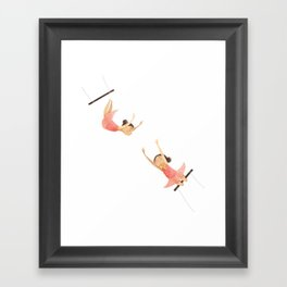 A Swing Act Framed Art Print
