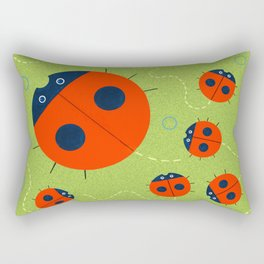 Ladybugs Rectangular Pillow