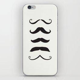 Mustache iPhone Skin