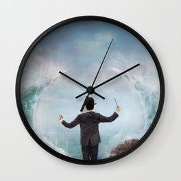 The Sea Conductor Wall Clock