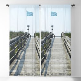 beach access Blackout Curtain