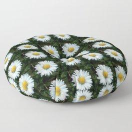 Daisy 5- Marguerite – margarita-oxeye Floor Pillow