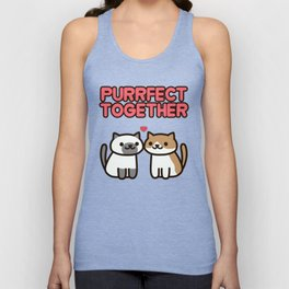 Marshmallow and Cocoa Unisex Tank Top