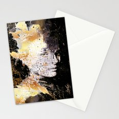 Typo face Stationery Cards