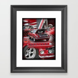 1966 Mustang  Framed Art Print