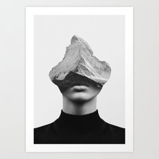 INNER STRENGTH Art Print