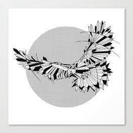 Hawk Geomentric Canvas Print