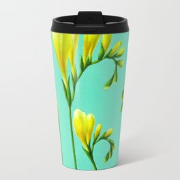 Freesias Travel Mug