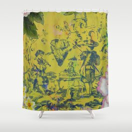 Afternoon, Iberian Shower Curtain