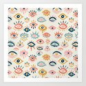 Mystic Eyes – Primary Palette by catcoq
