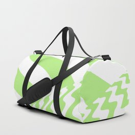 sudden change. mint Duffle Bag