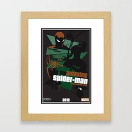 Amazing Spider-man Poster Framed Art Print