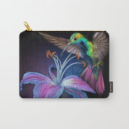 The Stargazer and The Hummingbird Carry-All Pouch