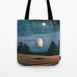 Flying Egg Tote Bag