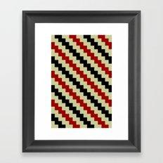 Pixel Navajo Framed Art Print