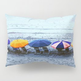 Myrtle Beach Umbrellas Pillow Sham