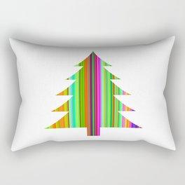 TRENDY CHRISTMAS TREE Rectangular Pillow