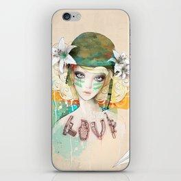 War girl iPhone Skin