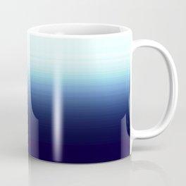 Nautical Blue Ombre Coffee Mug