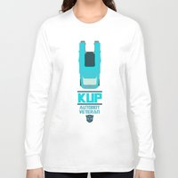 transformers Long Sleeve T-shirts featuring TRANSFORMERS - Kup: Autobot Veteran by komatosekosmonaut