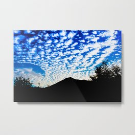 Tam Clouds Metal Print