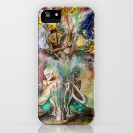 4 New Goddesses iPhone Case