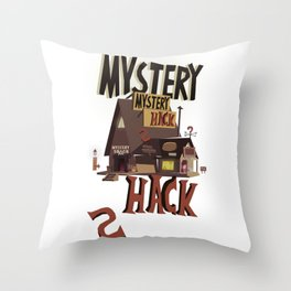 Mistery Shack Throw Pillow