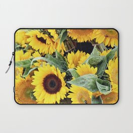 Happy Sunflowers Laptop Sleeve