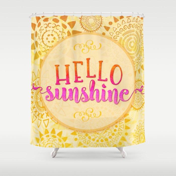 Good Morning Sunshine Shower Curtain : Sunshine Shower Curtain Home The  Honoroak