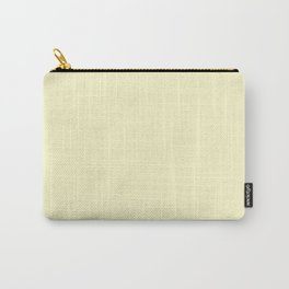 Lemon Chiffon - solid color Carry-All Pouch