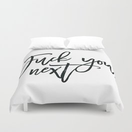 Fuck You,Next.. Ariana Poster, 7 Rings,Teen Room Poster, Teen Room Decor Duvet Cover