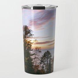Superior Fall Colors at Sunset Travel Mug