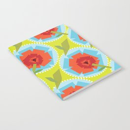 Poppies (Citrus) Notebook