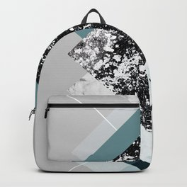 Geometric Textures 8 Backpack