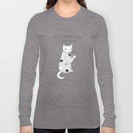 Morning Pajamas Cat Long Sleeve T-shirt