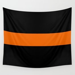 The Thin Orange Line Wall Tapestry