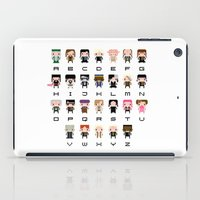 harry potter iPad Cases featuring Harry Potter Alphabet by PixelPower