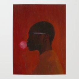 Red umbra Poster