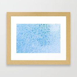 God's Paint Brush in Winter Framed Art Print