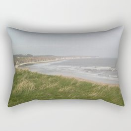 Sea View from the Breezy Cliffs Rectangular Pillow