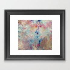 Tye Dye Kaleidoscope Sunset Framed Art Print