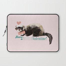 Love : Mustelid Valentine Laptop Sleeve